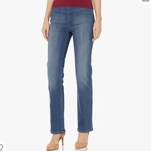 NYDJ Marilyn Straight Pullon Jeans Sz 8
